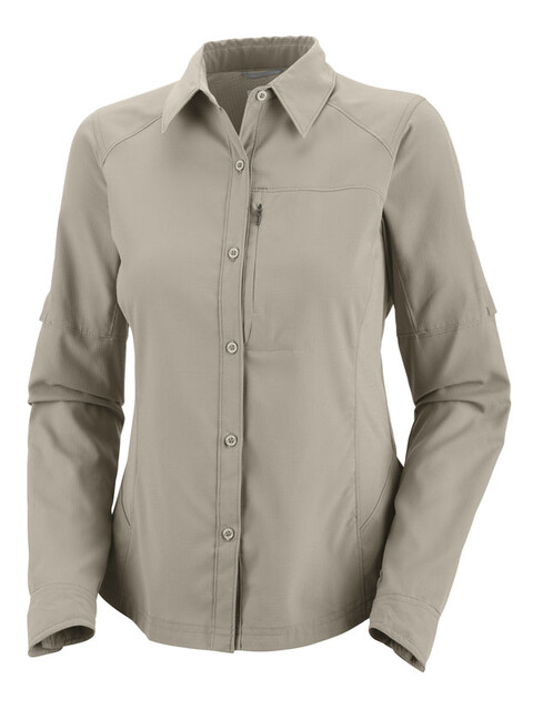 Columbia Silver Ridge Long Sleeve Shirt Women fossil